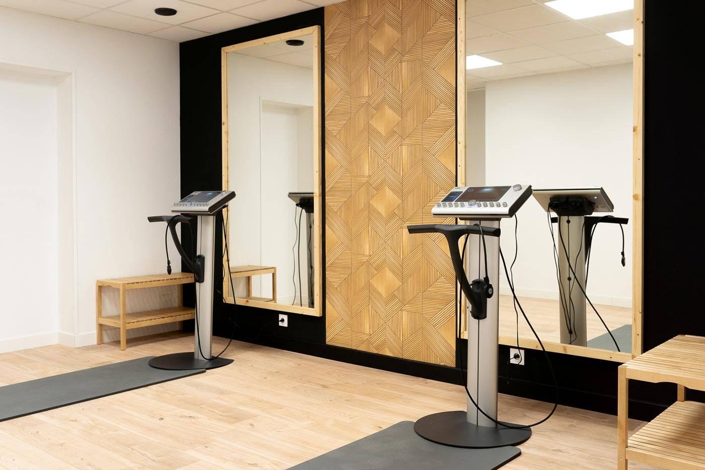 Studio électrostimulation rennes fit agency machine miha bodytec